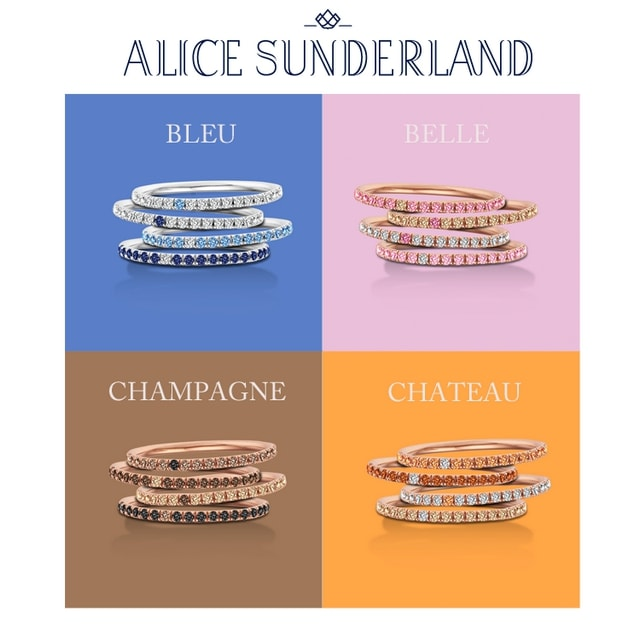 Rainbow Collectie van Alice Sunderland