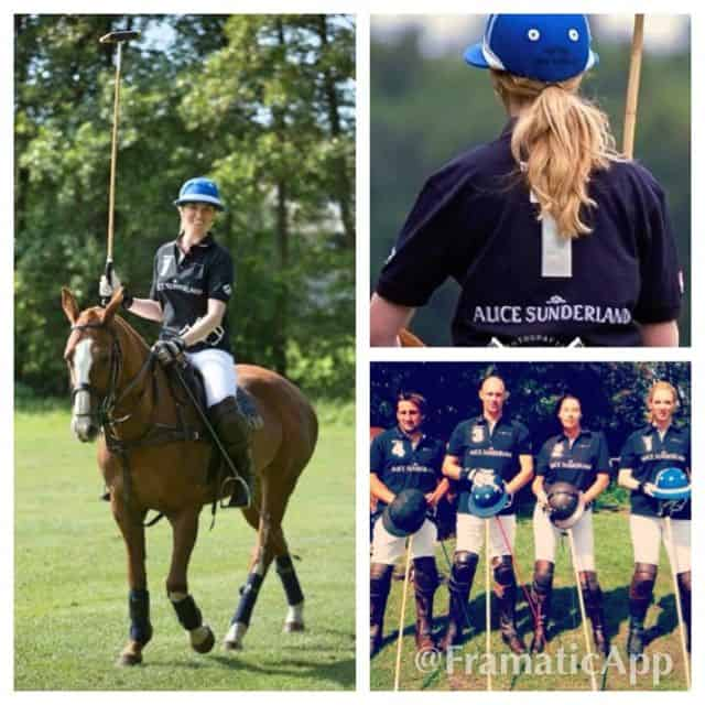 Alice Sunderland polo team brons op NK polo